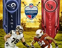 NFL Social Media Artwork - Rams x Cardinals
