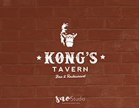 Logo design purpose for Kong's Tavern