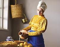 Vermeer's Milkmaid by Micheala Woollatt & Lauren Bloom