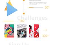 IDC Design Challenge Website Design