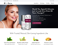 Rich Derma - E commerce Website For Antiaging Products