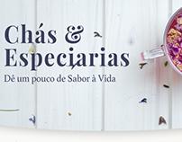 Web Design Concept for Algarve Spice