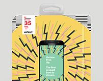 Verizon Prepaid - Packaging Design [Concept]