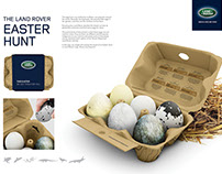 Land Rover Easter Hunt Direct Marketing Concept