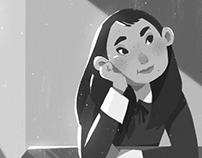 Schoolgirl Character Design