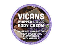 Body Butter Label Designs