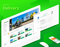 Last-mile Delivery Website