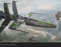 ILM STAR WARS CHALLENGE The RIDE no.1