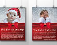 Plakati za prikupljanje donacija za Caritasove kuće