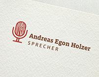 »Andreas Egon Holzer, Sprecher« – Corporate Design
