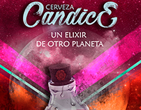 Candice: Poster publicitario