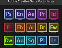 Adobe Creative Suite Vector Icons Download