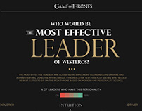 Who will be most effective leader - Games of Thrones