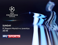 UEFA Champions League New visual Identity (Pitch)