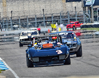2016 Brickyard Vintage Races Muscle Cars SVRA
