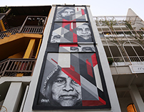 MURAL at ST+ART INDIA ● 2015