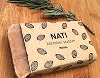 Nati | packaging for handmade soap