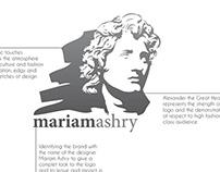 Mariam Ashry Logo Guideline