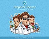 Telegram stickers «Skeptical Doctor»