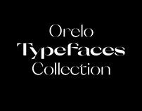 Orelo Typefaces Collection