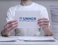 UNHCR public auction network campaign