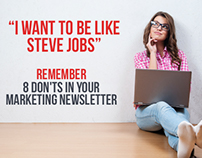 8 Dont's to remember in a Marketing Newsletter