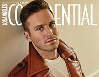 Armie Hammer for LA Confidential