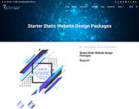 Starter Static Website Design Package ($149/year)