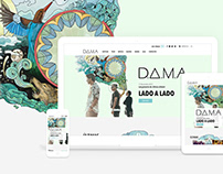 DAMA Band — Website