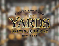 Yards Brewing Company Website Redesign