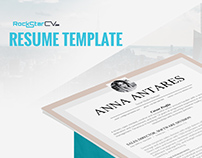 Resume Template Antares