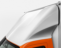 Renault Master roofspoiler