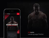 F&H Landing Page Freebie