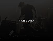 Pandora Radio | UI/UX Redesign