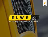 Elwe - Web design