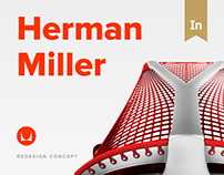Herman Miller - redesign concept