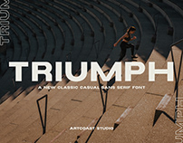 Triumph Sans Serif Font