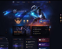 Aion Wonder Game template