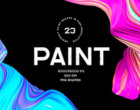 Paint - 3d abstract shapes