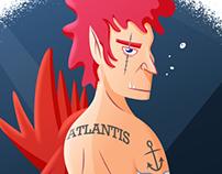 100 Sereias Project - Atlantis Newt