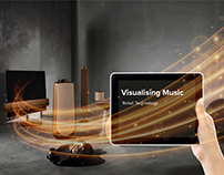 Experience Design, B&O, Visualising Music