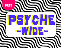 Psyche - Wide (Free font)