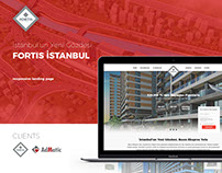Fortis İstanbul - Landing Page
