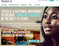 Teach.org Redesign