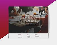 Corporate Website: Cre8