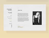 Paulina Ramis - Web