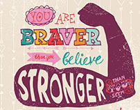 Stronger Braver Smarter Loved