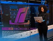 Telecom Logo Design With Presentation