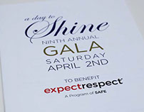 A Day to Shine Gala Event Program