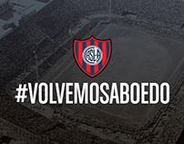Club San Lorenzo de Almagro - #VolvemosABoedo